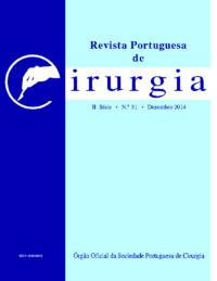 REVISTA PORTUGUESA DE CIRURGIA – II Série • Nº 31 • Dezembro 2014