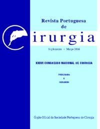 REVISTA PORTUGUESA DE CIRURGIA – Suplemento • Março 2016 • XXXVI Congresso Nacional de Cirurgia
