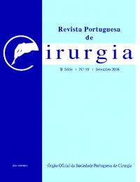 REVISTA PORTUGUESA DE CIRURGIA – II SÉRIE • Nº 38 • SETEMBRO 2016