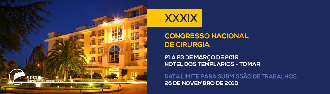 XXXIX Congresso Nacional de Cirurgia